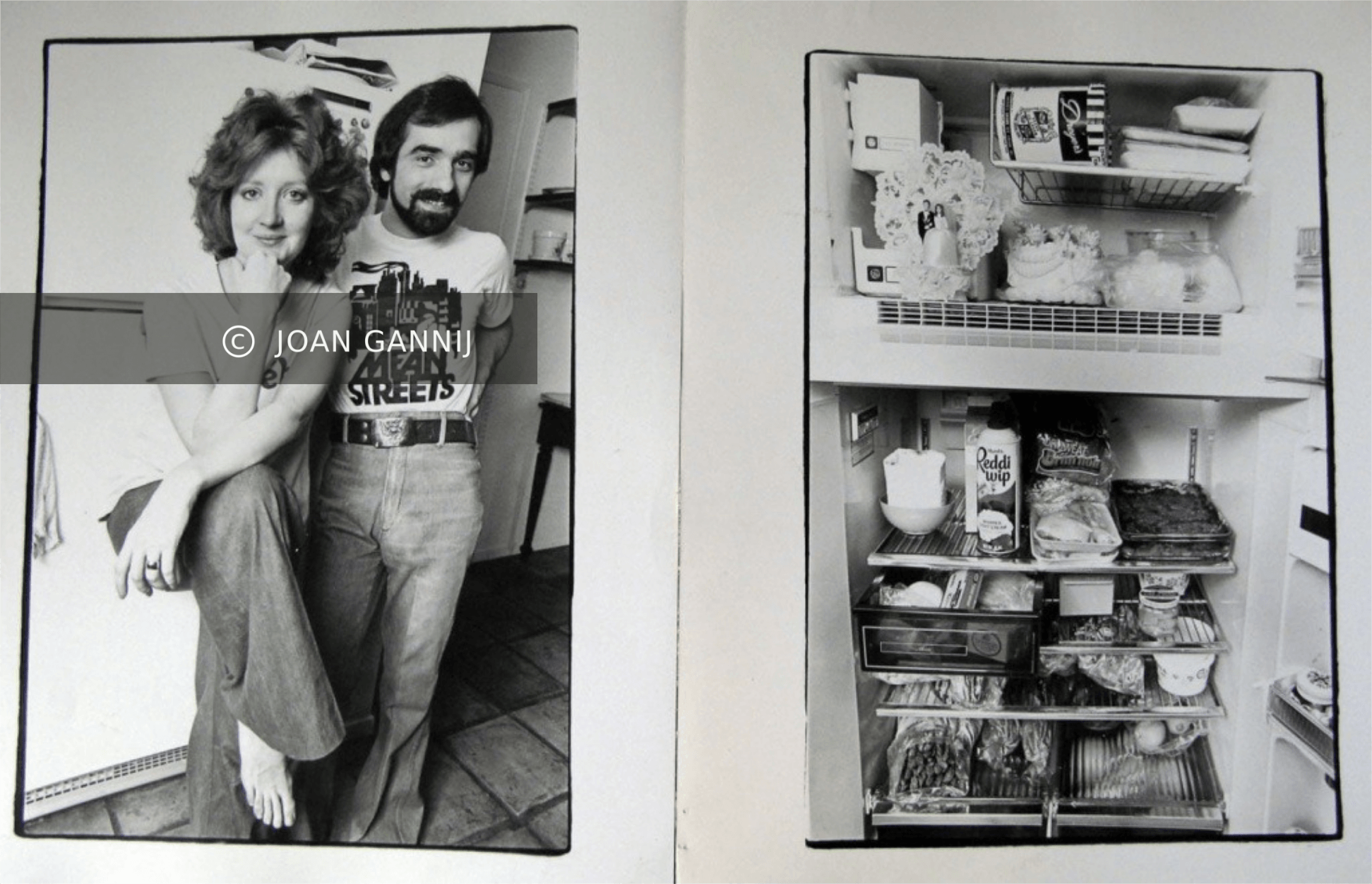 Martin Scorsese and Julia Cameron